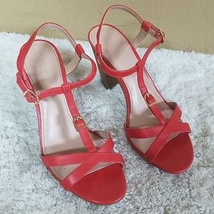 J. Crew sandal heels